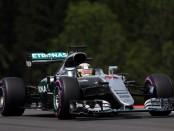 Lewis Hamilton qualification Autriche 2016