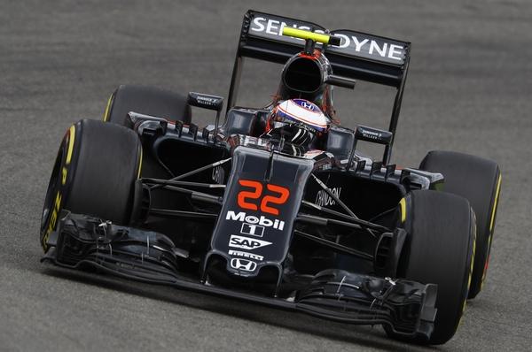 Jenson Button course Allemagne 2016