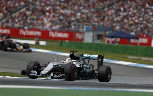 Lewis Hamilton course Allemagne 2016