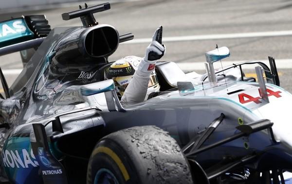 Lewis Hamilton the top Allemagne 2016