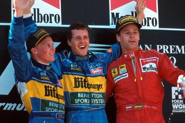 Michael Schumacher Espagne 1995