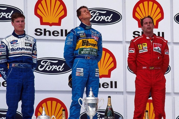 Michael Schumacher Interlagos 1995