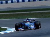 Schumacher Espagne 1995