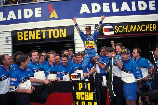 Michael Schumacher Australie 1994