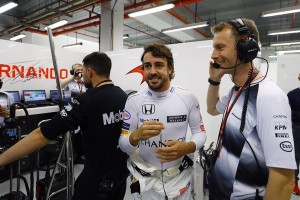 Fernando Alonso top Singapour 2016