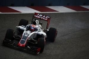 Romain Grosjean flop Singapour 2016