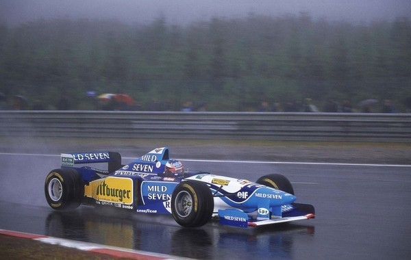 Michael Schumacher Belgique 1995