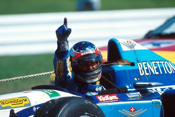 Michael Schumacher Hockenheim 1995