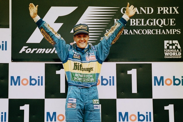 Michael Schumacher Spa 1995