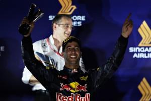 Daniel Ricciardo top Singapour 2016