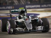 Nico Rosberg qualification Singapour 2016