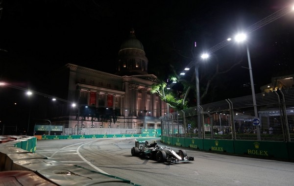 Nico Rosberg the top Singapour 2016