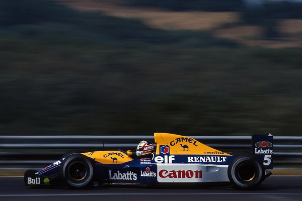 Williams FW14B Mansell Hongrie