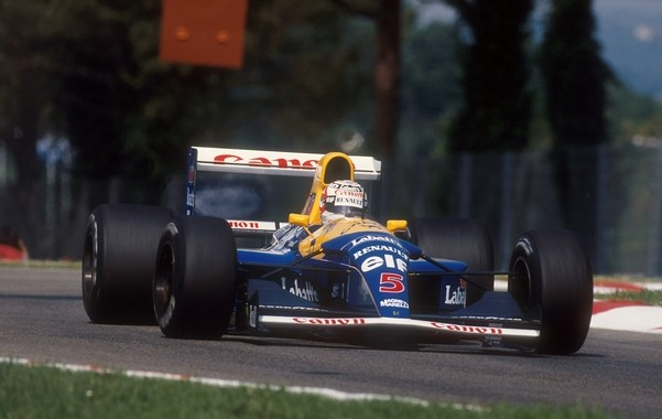 Williams FW14B Mansell Imola