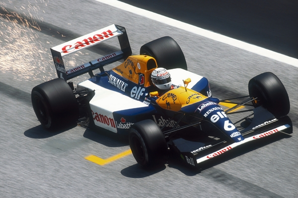 Williams FW14B Patrese Imola