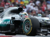 Lewis Hamilton course Etats-Unis 2016