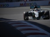 Lewis Hamilton qualification Mexique 2016
