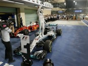 Lewis Hamilton the top Abou Dhabi 2016