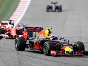 Max Verstappen the flop Etats-Unis 2016