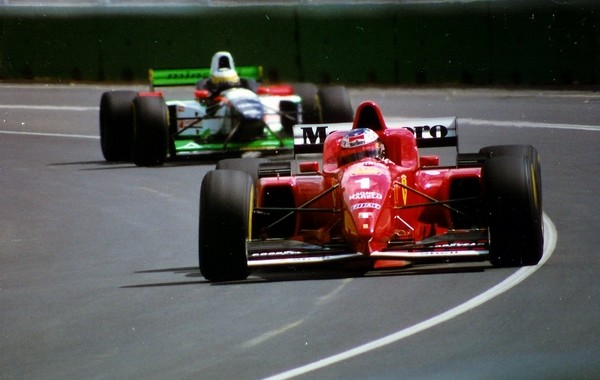 Michael Schumacher Australie 1996