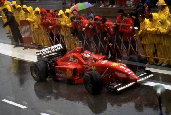 Michael Schumacher Barcelone 1996
