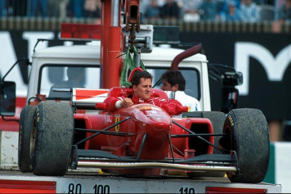 Michael Schumacher Magny-Cours 1996