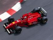 Michael Schumacher Monaco 1996