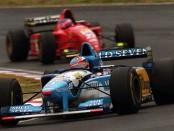 Schumacher Alesi Europe 1995