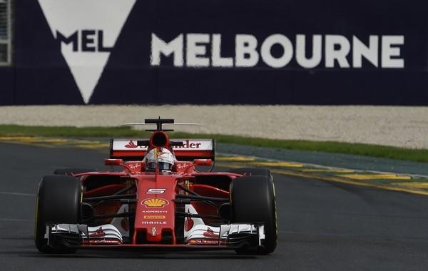 Sebastian Vettel course Australie 2017