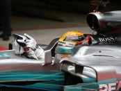Lewis Hamilton the top Chine 2017