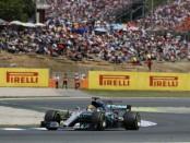 Lewis Hamilton course Espagne 2017