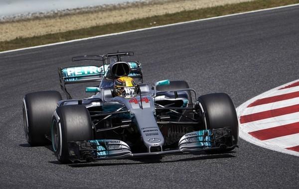 Lewis Hamilton qualification Espagne 2017
