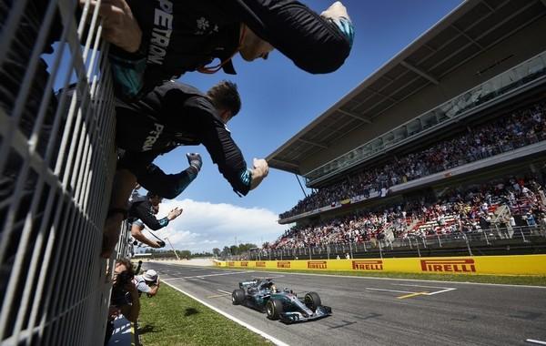 Lewis Hamilton the top Espagne 2017