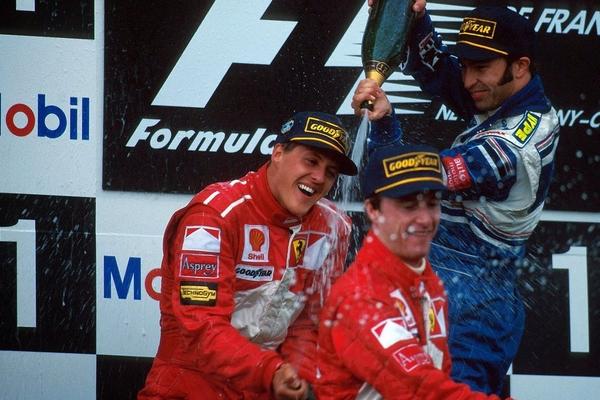 Michael Schumacher Magny-Cours 1997