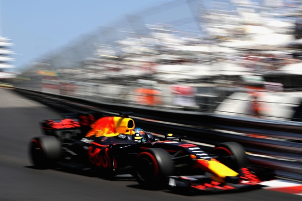 Daniel Ricciardo course Monaco 2017