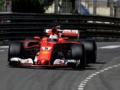Sebastian Vettel course Monaco 2017