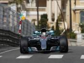Lewis Hamilton the flop Monaco 2017