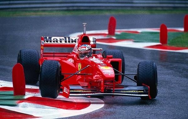 Michael Schumacher Belgique 1997