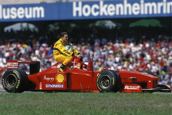 Michael Schumacher Hockenheim 1997