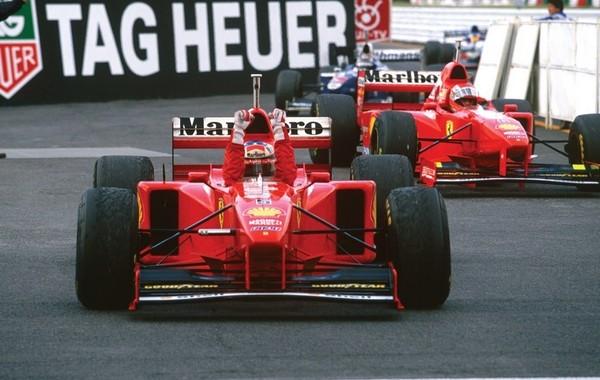 Michael Schumacher Japon 1997