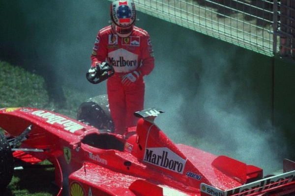 Michael Schumacher Melbourne 1998