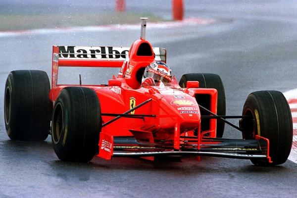 Michael Schumacher Spa 1997