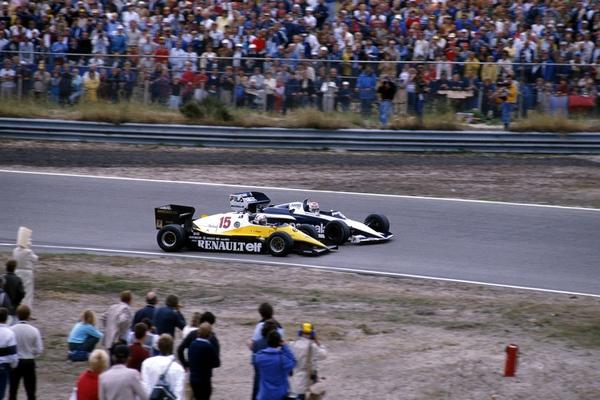 Prost Piquet Zandvoort 1983