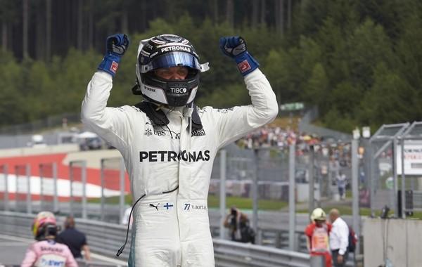 Valtteri Bottas the top Autriche 2017