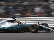 Lewis Hamilton qualification Angleterre 2017