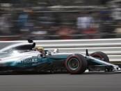 Lewis Hamilton qualification Angleterre 2017
