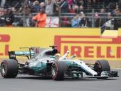 Lewis Hamilton the top Angleterre 2017