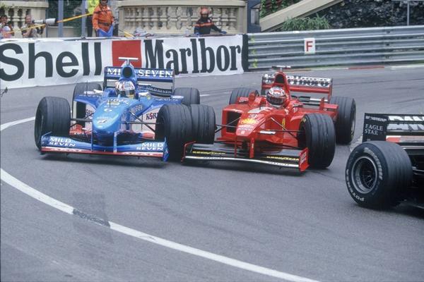 Michael Schumacher Monte-Carlo 1998