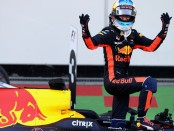Daniel Ricciardo the top Azerbaijan 2017