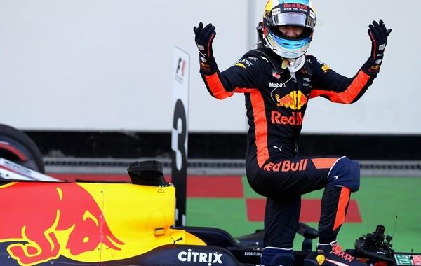 Daniel Ricciardo the top Azerbaijan 2017